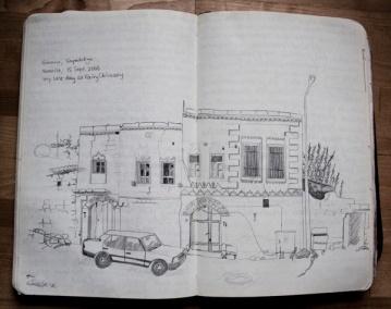 drawing goreme