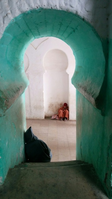 morocco green arch